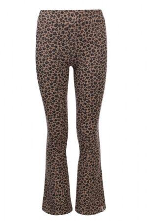 Looxs meisjes flare leopard bruin 2131-5616