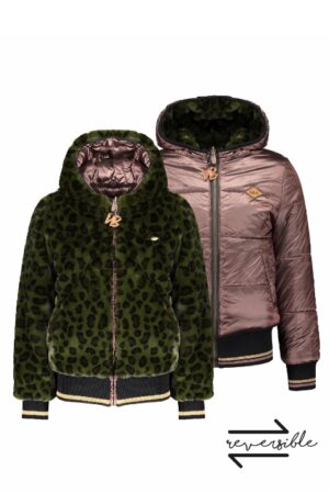 NoBell' meisjes winterjas Q107-3201-300 army green
