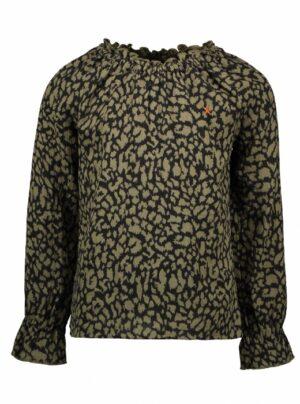 Like Flo blouse F1108-5110 groen print