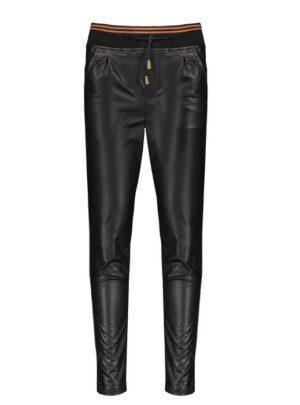 NoBell' leather look broek Q108-3610-014 zwart